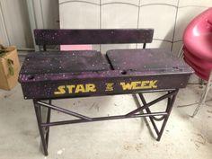 """Star of the Week"" Star Wars themed rewards."