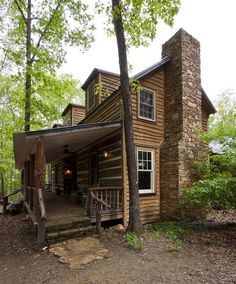 Historic 2-story log cabin, ca. 1809, gets a new life...