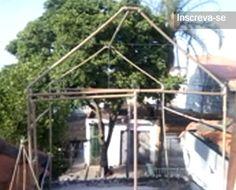 PVC PASSO A PASSO: Estrutura de estufa feita com canos de PVC..1