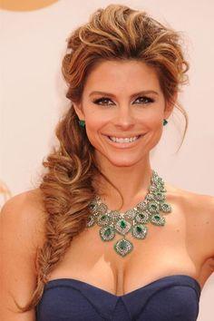 Top 20 Braid Hairstyles: Maria Menounos #fishtailbraid
