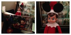 Sam the Elf had Disney on the brain last night!