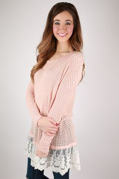 Ever So Lucky Top in Peach | Impressions Online Women's Clothing Boutique #ShopImpressions