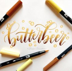 Brush Lettering Quotes, Hand Lettering Art, Calligraphy Quotes, Learn Calligraphy, Creative Lettering, Lettering Styles, Calligraphy Alphabet, Typography Letters, Harry Potter Drawings
