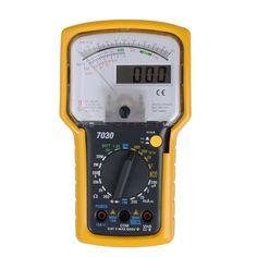 Pantalla dual probador multímetro analógico digital profesional kt7030