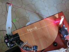 DIY 3D Laser Scanner Using Arduino #arduino ~~~ For more cool Arduino stuff check out