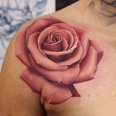 10 Incredible Rose Tattoos by John AndertonDesign of Tattoos
