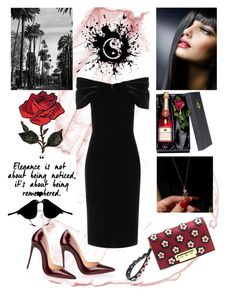 """Litle Black Dress"" by jojona-1 ❤ liked on Polyvore featuring Emilio De La Morena, ZAC Zac Posen and Christian Louboutin"