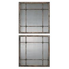 Shop for Uttermost Saragano Slate Blue Square Mirrors (Set of 2). Get free shipping at Overstock.com - Your Online Home Decor Outlet Store! Get 5% in rewards with Club O!