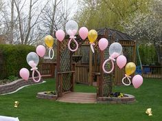 Pacifier Balloon Display