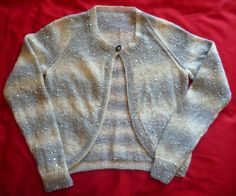 Ladies Hand-knitted Galaxy Cardigan