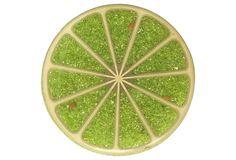 Lucite Lime Trivet