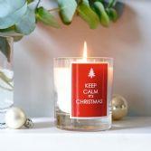 Keep Calm Candle
