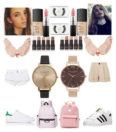 """Summer"" by madisonkiss on Polyvore featuring adidas, OneTeaspoon, Johanna Ortiz, Totême, NARS Cosmetics, MAC Cosmetics and Olivia Burton"