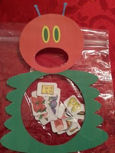 Children At Play: The Very Hungry Caterpillar Story Retelling Ziploc Activity