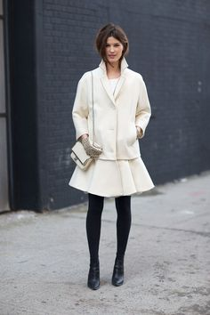 Street Style - Street Style Photos New York Fashion Week Fall 2014