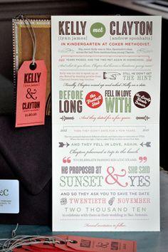 so many cute invitation ideas!