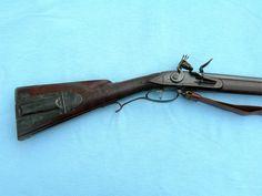 Virginia iron mounted flintlock rifle