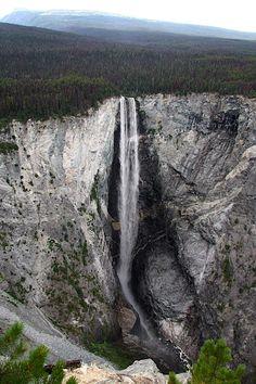 Hunlen Falls, British Columbia Canada