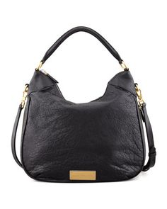 Washed Up Billy Hobo Bag, Black by MARC by Marc Jacobs at Neiman Marcus.