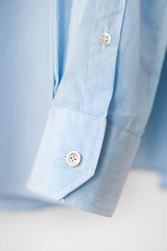 Egon Brandstetter Bespoke Tailor, Berlin | #SleeveCuff of a #bespoke #shirt | #Tailoring #Handmade