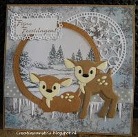 Marianne Design Cards, Die Cut Cards, Animal Projects, Baby Deer, Christmas Tag, Cricut Explore, Mini Albums, Reindeer, Stampin Up