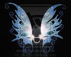 Bobbie's fairy wings by glittrrgrrl.deviantart.com on @deviantART