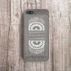 AZTEC Phone Case Grey iPhone Case Plastic Cases by casesbycsera, $18.99