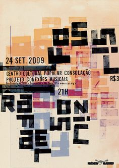 gig3 poster by rodrigo sommer #typography #graphic #design