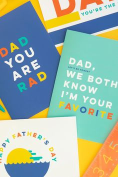 10 More Great Father's Day Gifts Free Fathers Day Cards, Easy Fathers Day Craft, Homemade Fathers Day Gifts, Funny Fathers Day Card, Diy Father's Day Gifts, Great Father's Day Gifts, Father's Day Diy, Gifts For Kids, Fathers Day Poster