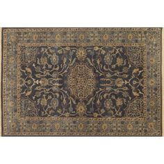 Check Out This Item At One Kings Lane Jett Rug Blue