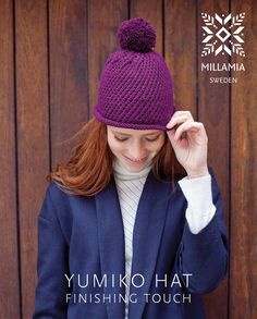 Yumiko Hat in MillaMia Naturally Soft Aran - Downloadable PDF. Discover more Patterns by MillaMia at LoveKnitting. We stock patterns, yarn, needles and books from all of your favorite brands.