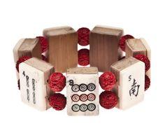 Mahjong Cinnabar Bracelet