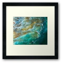 Ocean Waves Nature Abstract Photography • Millions of unique designs by independent artists. Find your thing. Poster Prints, Framed Prints, Abstract Photography, Ocean Waves, Artists, Explore, Unique, Nature, Design
