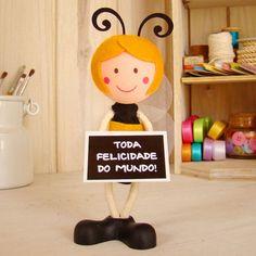 Boneca Abelha @ BoniFrati  • Na lojinha pra você :) http://loja.bonifrati.com.br