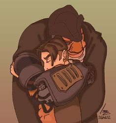 Hug by ~Issoman - Treasure Planet
