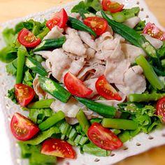 お肉も野菜もがっつり食べたくて♪ - 20件のもぐもぐ - さっぱり豚しゃぶサラダ♪ by unnuku