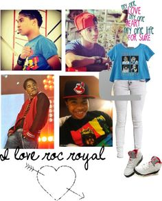 """""""I love roc royal"""" by kesha-1 ❤ liked on Polyvore"""