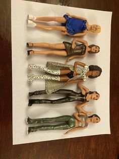 Spice Girls 1998 6 Inch Figures (Includes all 5)