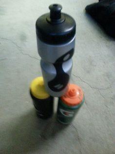 13. Water bottle pyramid by Analise Klassen