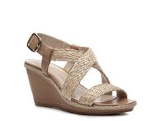 Andrew Geller Felda Wedge Sandal Casual Sandals Sandal Shop Women's Shoes - DSW
