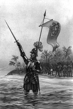 "Vasco Núñez de Balboa and the crossing of the Isthmus of Panama to the Pacific Ocean in 1513. He was the first European to lead an expedition that reached the Pacific Ocean from the ""New World"". After taking possession of its waters on behalf of the Crown of Spain, he named the Ocean, ""South Sea"", because it was further south than the Caribbean Sea. This fact has historically been considered the most important chapter of the Colonization of the Americas, after the discovery of the new…"