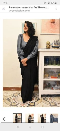 Source by yashvipatel blouse designs Saree Blouse Neck Designs, Fancy Blouse Designs, Bridal Blouse Designs, Sari Design, Sleeves Designs For Dresses, Stylish Blouse Design, Lehenga, Sarees, Designer Blouse Patterns