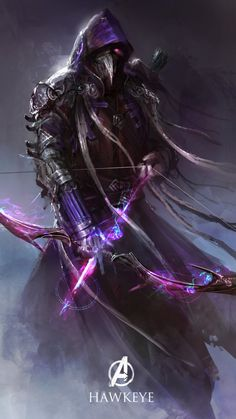 The Avengers Imagined as Dark Fantasy Characters [Picture Gallery]