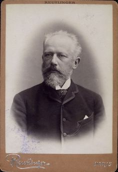 Pyotr Tchaikovsky [Петръ Ильичъ Чайковскiй] (1840-1893), photograph (1886), by Émile Reutlinger (1825-1907).