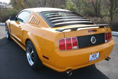Grabber Orange 2008 Mustang GT Coupe