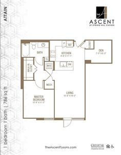 See all available apartments for rent at The Ascent at Spring Hill Station in Mclean, VA. The Ascent at Spring Hill Station has rental units ranging from 461-1163 sq ft starting at $1737.