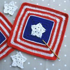 American Star Afghan Block crochet pattern update
