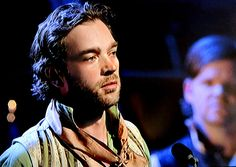 Hadley Fraser as Grantaire, Les Miserables Anniversary Concert. How could I forget to mention him! Best Graintaire ever! Broadway Les Miserables, Hadley Fraser, Broadway Stage, Pirate Queen, Ramin Karimloo, One More Day, Royal Albert Hall, I Have A Crush, Book Show