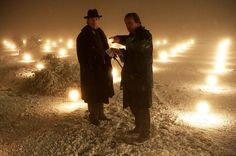 on the set of the prestige