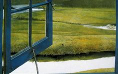 ワイエス Andrew and Jamie Wyeth Love in the Afternoon by Andrew Wyeth Limited Edition Print, Eight color archival inks on Fine German Etching Paper, Edition of 500 Jamie Wyeth, Andrew Wyeth Paintings, Andrew Wyeth Art, Nc Wyeth, Beaux Arts Paris, Open Window, Window Art, Le Far West, Tempera